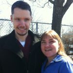 Jason Dunkerley and Colleen Hayes